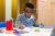 School Boy Writing
