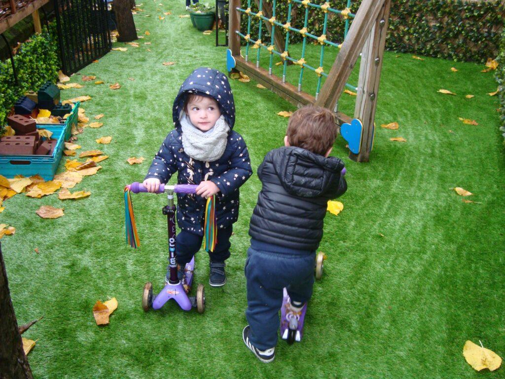 Nursery-Children-Scooter-Training